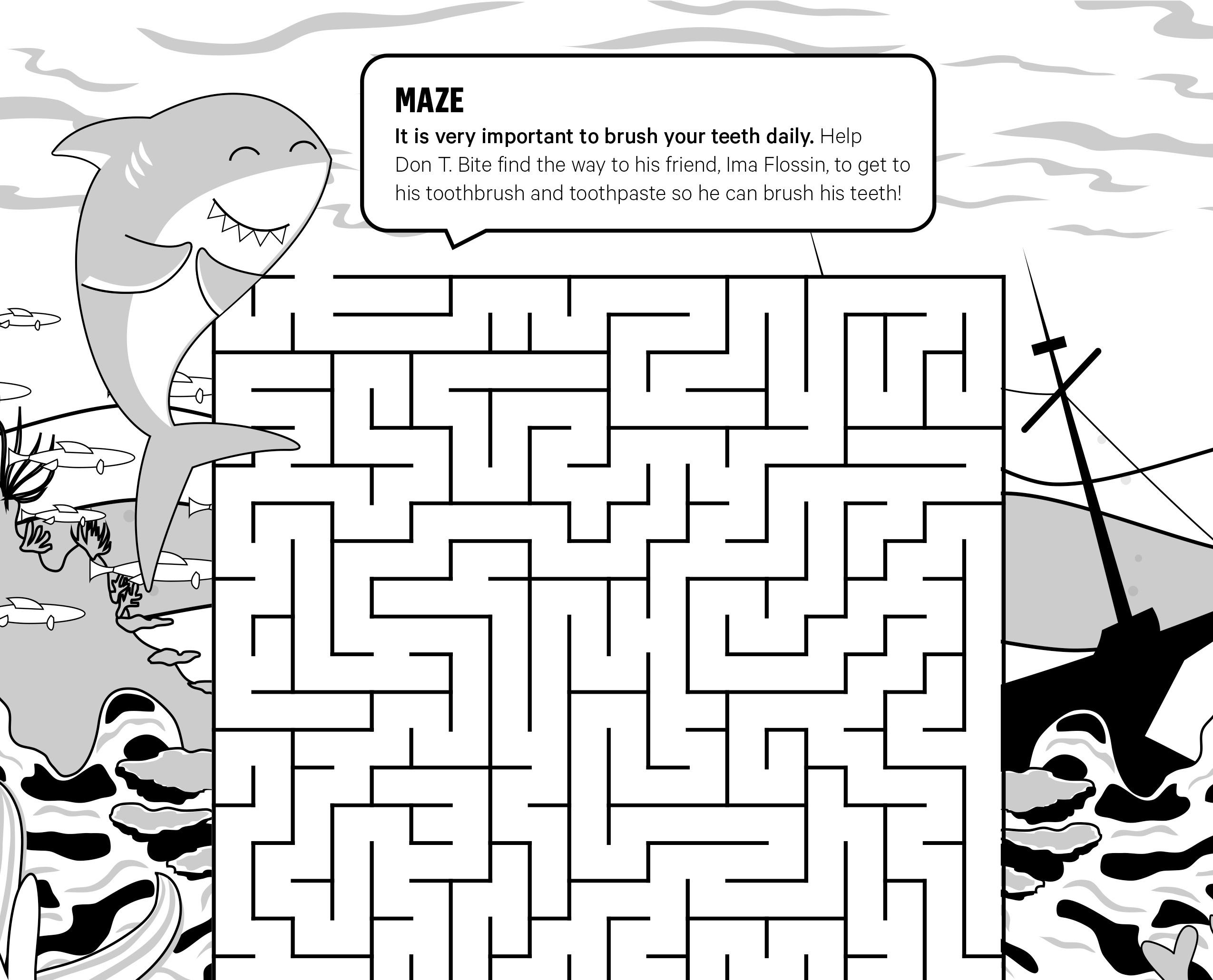 Kids' Smile Zone Maze