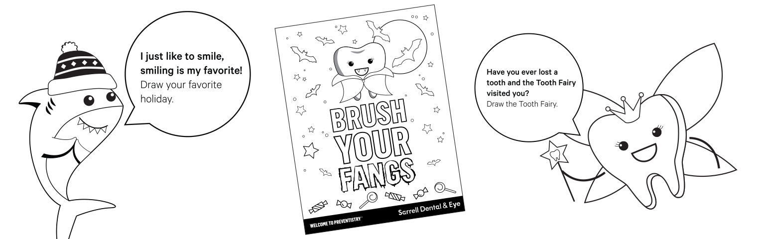 Kids Smile Zone Coloring Sheets